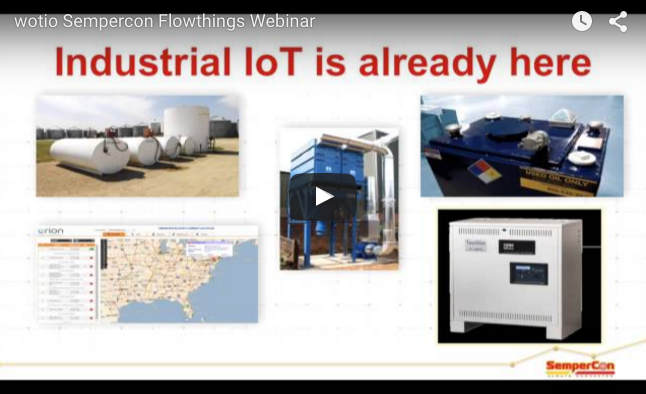 A Webinar on Deploying Industrial IoT Solutions