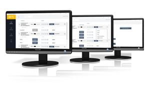 Smart Warehouse OIT App Mock up screen shots